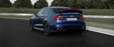 Noul Audi A3 clubsport quattro ne arata eleronul sau Veyron-style