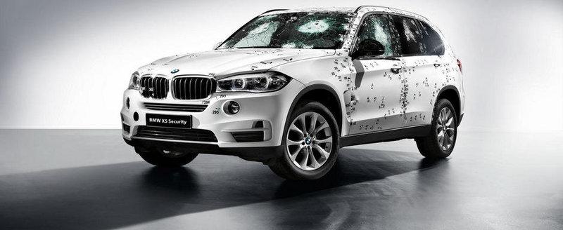 Noul BMW X5 se blindeaza pentru Salonul Auto de la Moscova