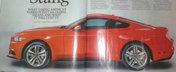 Noul Ford Mustang a ajuns pe internet. Iata cum arata muscle car-ul american!
