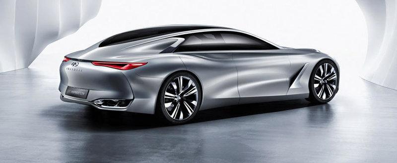 Noul Infiniti Q80 prefigureaza un rival pentru Mercedes CLS si compania