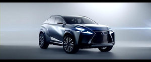 Noul Lexus LF-NX Concept debuteaza in primul sau promo oficial