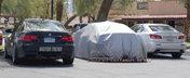 Noul Lexus RC-F, surprins in teste alaturi de Lexus IS-F si BMW M3 Coupe