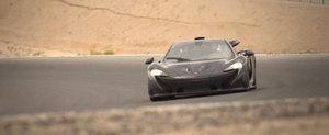 Noul McLaren P1 isi testeaza limitele la peste 30 grade Celsius