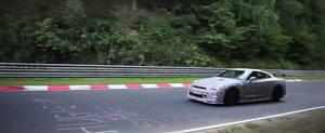 Noul Nissan GT-R Nismo se pregateste sa spulbere recordul de la Nurburgring