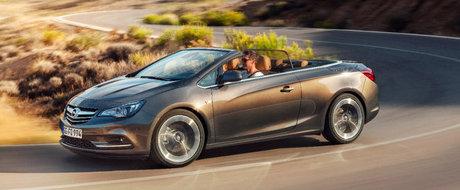 Noul Opel Cascada - Decapotabila incantatoare cu forme atletice