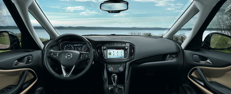 Noul Opel Zafira, prezentat in premiera la noi in tara