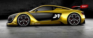 Noul Renault Sport RS 01 ne impresioneaza cu cifrele si formele sale