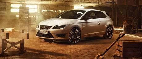 Noul SEAT Leon Cupra 290 are 290 CP, face suta in 5.7 secunde