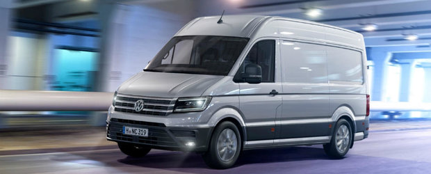 Noul Volkswagen Crafter ridica stacheta destul de sus in segmentul vehiculelor comerciale