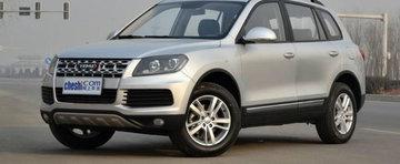 Noul Volkswagen Touareg? Nu, doar o copie ieftina din China...