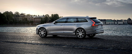 Noul Volvo V90 debuteaza oficial, ne face instant sa uitam de concurenta