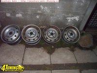 Ocazie set e 4 jante de tabla pe 15 originale de Fiat Ducato Peugeot Boxer la doar 150 ron bucata