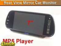 OGLINDA RETROVIZOARE MONITOR TFT LCD 7 PLAYER USB SD 2 INTRARI VIDEO 399 LEI
