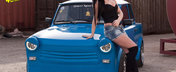 Old School Reloaded: Trabi 1.1 by Stefan