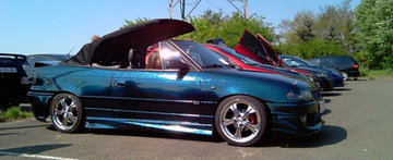 Opel Astra cabriolet by Ionut  - o masina ca un cer instelat