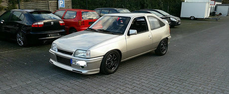 Opel-ul care nu se teme de nimic. Are 905 CP si fumeaza orice Lamborghini.