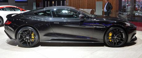 Paris 2014: Aston Martin Vanquish Carbon Edition readuce negrul la moda