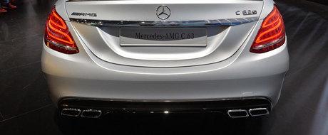 Paris 2014: Noul Mercedes C63 AMG isi asteapta rivalii la semafor