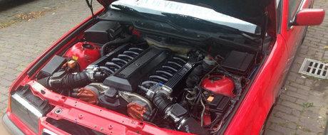 Pentru 5.000 de euro poti avea o Dacie Logan sau... un BMW E36 cu motor V12