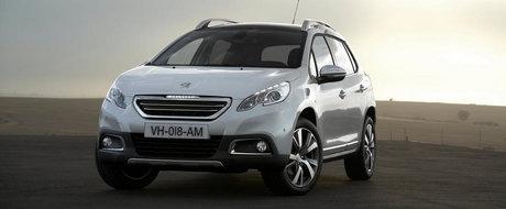 Peugeot vrea sa dubleze productia modelului 2008