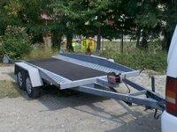 Platforma auto 2 tone , basculabila, Brenderup