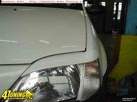 Pleoape Dacia Logan plastic,culoare negru,produs nou