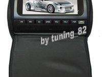 PNI 999C B Tetiere Negre Lcd 9 Inch Lentila Dvd Sony Husa Usb Sd Player Divx Jocuri Modulator Fm Joystick Wireless