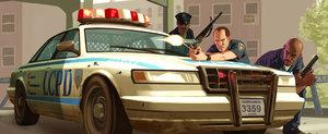 Politie, gloante si un sofer care se crede in GTA... in Rusia