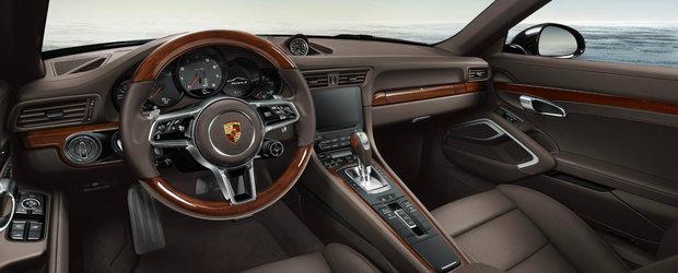 Porsche ne propune un 911 Cabrio cu interior... din lemn