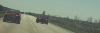 Porsche vs. Mustang: cursa de dragrace terminata prost