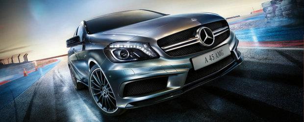 Poti sa uiti de Audi-ul RS3 si de BMW-ul M2. Uite ce aduce viitoarea generatie a Mercedes-ului-AMG A45