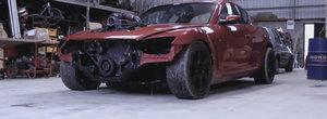 Povestea singurei Mazde RX-8 din lume cu motor diesel de...camion