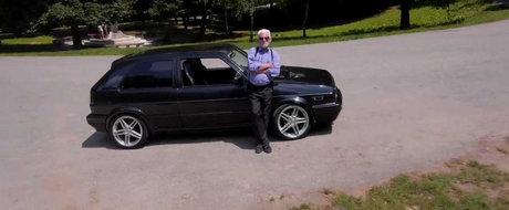 Povestea unui batranel de 70 de ani, pasionat de tuningul auto