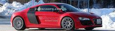 Poze Spion: Audi R8 E-Tron, surprins din nou in teste