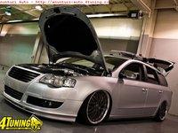 Prelungire bara fata fusta spoiler Votex VW Passat b6 3C 2005 ver2