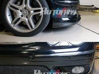 Prelungire bara fata Mercedes Benz E class W211 AMG din CARBON