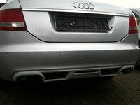 Prelungire bara spate Audi A6 C6 4F 2004 2005 2006 2007 2008 ABT Sedan S line RS6 S6 ver. 2