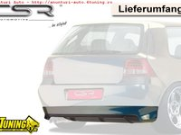 Prelungire Difusor Difuzor Spoiler Bara Spate VW Golf 4 HA113 VW Golf 4 HA116 VW Golf 4 HA119 GTI 25 Jahre look