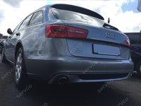 Prelungire difuzor bara spate Audi A6 C7 avant 2011 2014 ABT Sline