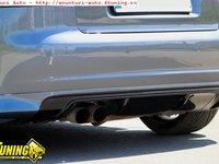 Prelungire difuzor fusta spoiler adaos bara spate Audi A3 S3 8P Coupe 3 usi 3d 2005 2008