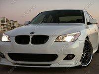 Prelungire extensie fusta spoiler bara BMW E60 E61 Hamann Mtech Aero pachet M ver4