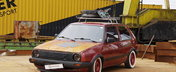 Premiera in Romania: Rat Style VW Golf 2 GT  by Vlad