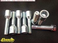 Prezoane Lungi Tip Tuner System Pt Jante Aliaj Cap Imbus 12x1 5 /14x1.5 cu parte Filetata 45 Mm