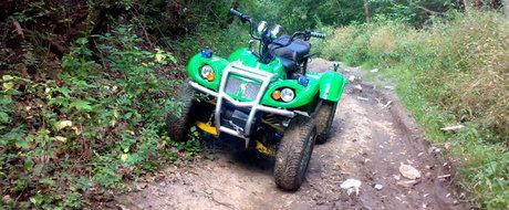 Primul ATV 100% romanesc: cum sa faci un ATV din nimic