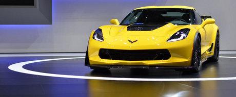 Primul Chevrolet Corvette Z06 s-a vandut la pret de Bugatti Veyron