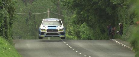 Priveste cum un Subaru de 600 CP doboara recordul celui mai periculos circuit stradal din lume