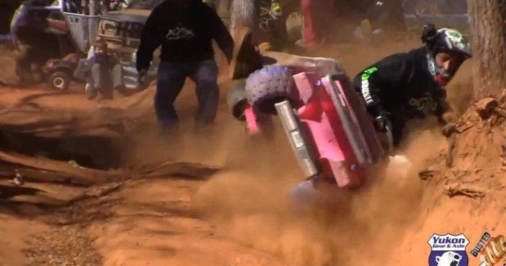 Probabil cea mai tare cursa din univers: masinile Barbie