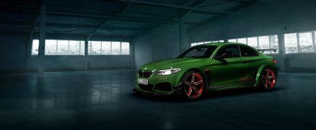 Probabil cel mai nebun BMW Seria 2 din lumea intreaga. Are motor de M4 si costa aproape 150.000 euro
