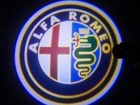Proiector laser cu logo pentru iluminat sub usa - mai multe variante