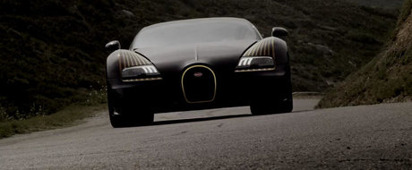 Promo superb pentru exclusivistul Bugatti Legend Black Bess